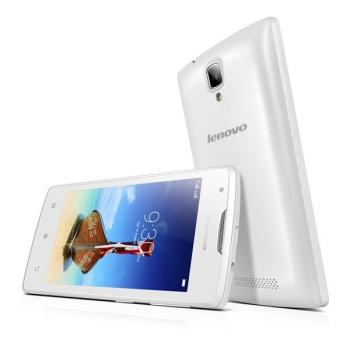 Mobilní telefon Lenovo A1000 DualSIM bílý + dárek