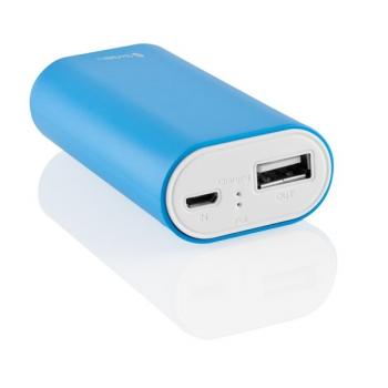Powerbank GoGEN 4000mAh bílá/modrá