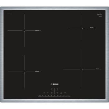 Indukční varná deska Bosch PIE645FB1E černá/nerez