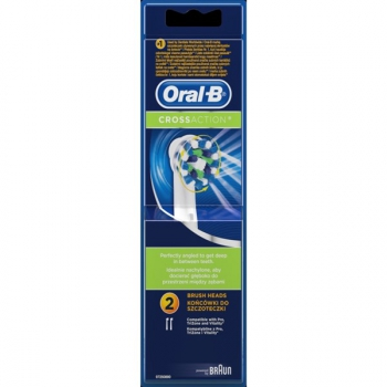 Náhradní kartáček Oral-B EB 50-2 Cross Action bílé