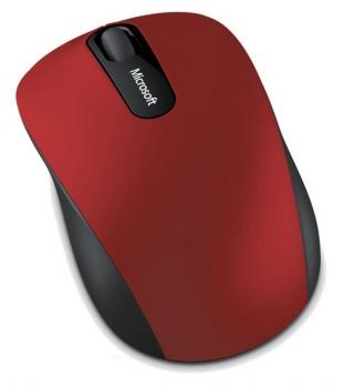 Myš Microsoft Bluetooth Mobile Mouse 3600 černá/červená (/ optická / 3 tlačítka / 1000dpi)