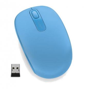Myš Microsoft Wireless Mobile Mouse 1850 Cyan modrá (/ optická / 2 tlačítka / 1000dpi)