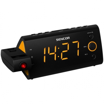 Radiobudík Sencor SRC 330 OR černý/oranžový