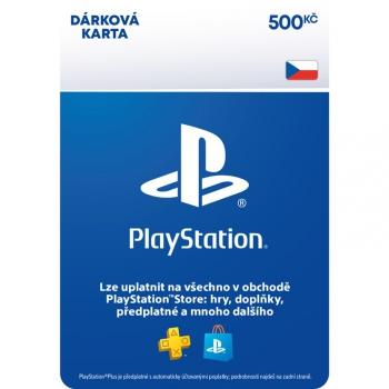 Předplacená karta Sony PlayStation Live Cards 500Kč - pouze pro CZ PS Store