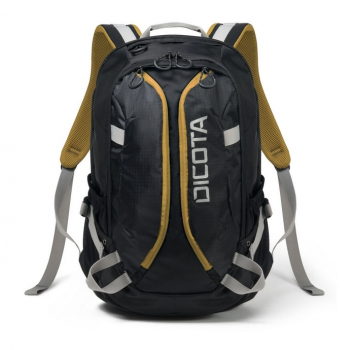 Batoh na notebook DICOTA Active pro 14-15,6'' černý/žlutý