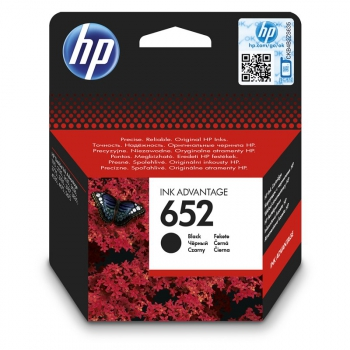 Inkoustová náplň HP 652, F6V25AE