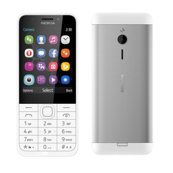 Mobilní telefon Nokia 230 Dual SIM bílý
