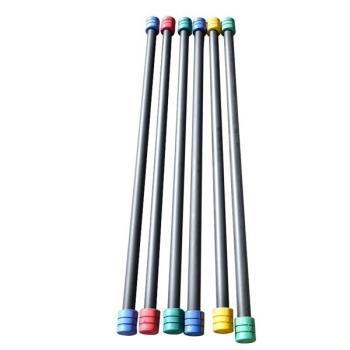 Aerobik tyč Master 6 kg červená/modrá/žlutá/zelená