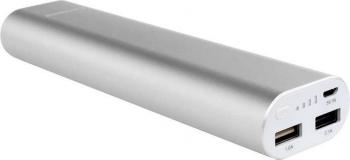 Powerbank Coolpad EBC100C, 10400mAh stříbrná