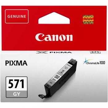 Inkoustová náplň Canon CLI-571G šedá