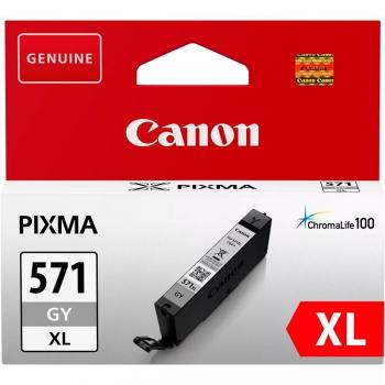Inkoustová náplň Canon CLI-571XL G šedá