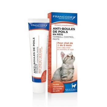 Pasta Francodex proti trichobezoárům kočka 70 g