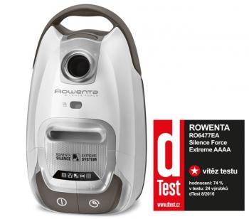 Podlahový vysavač Rowenta SILENCE FORCE 5*  RO6477EA bílý