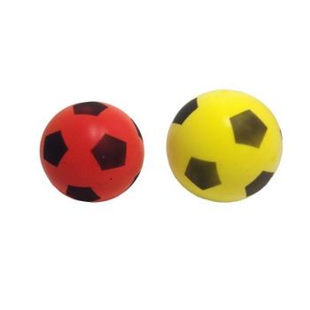 Soft míč FRABAR fotbal, 2ks - plast