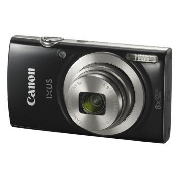Digitální fotoaparát Canon IXUS 177 + orig.pouzdro + 8GB SD karta černý
