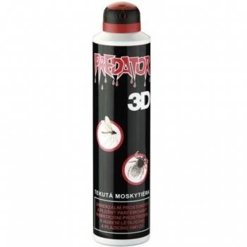 Sprej Predator repelent 3D 300ml spray + Prášek De-plague 50g ZDARMA