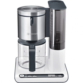 Kávovar Bosch Styline TKA8631 bílý/nerez
