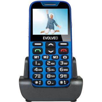Mobilní telefon Evolveo EVOLVEO EasyPhone XD pro seniory modrý