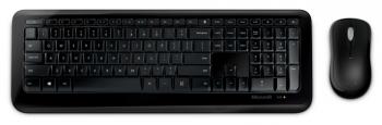 Klávesnice s myší Microsoft Wireless Desktop 850, USB, CZ/SK černá