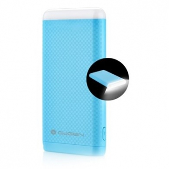 Powerbank GoGEN 8000mAh, svítilna modrá