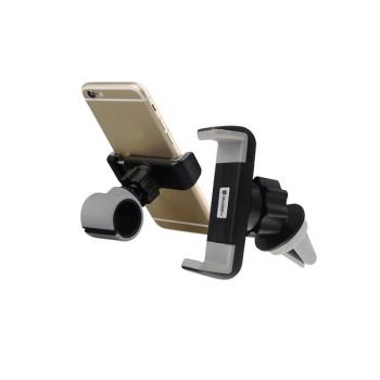 Držák na mobil GoGEN MCH640, univerzální, 2v1 černé/šedé