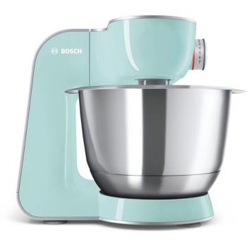 Kuchyňský robot Bosch CreationLine MUM58020 stříbrný/tyrkysový