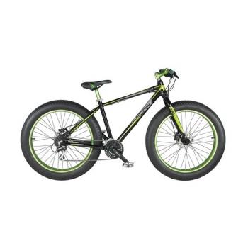 """Fat Bike Coppi 2016 2016 King, vel. 26"""" černé/zelené + dárky"""