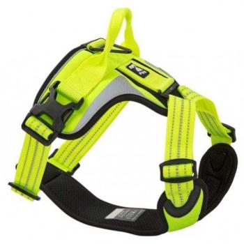 Postroj Hurtta Lifeguard Dazzle 60-80cm žlutý