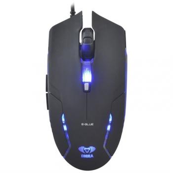 Myš E-Blue Cobra II černá (/ optická / 6 tlačítek / 1600dpi)