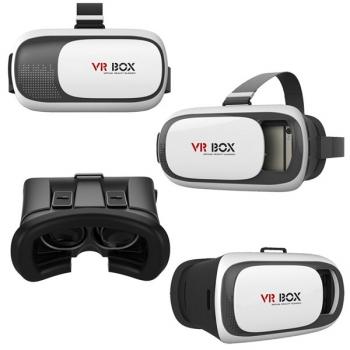 Brýle pro virtuální realitu  Aligator VR BOX2 černý/bílý