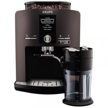 Espresso Krups EA829P10 šedé