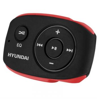 MP3 přehrávač Hyundai MP 312 GB8 BR černý/červený