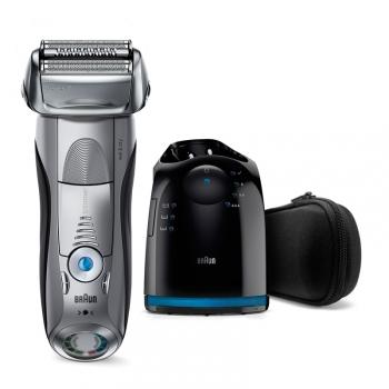 Holicí strojek Braun Series 7 7899cc Clean&Charge Wet&Dry stříbrný