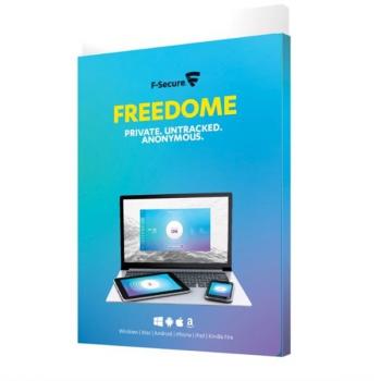 Software F-Secure FREEDOM, 3 zařízení / 1 rok