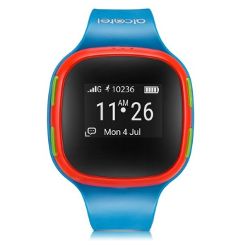 Chytré hodinky ALCATEL MOVETIME Track&Talk Watch červené/modré