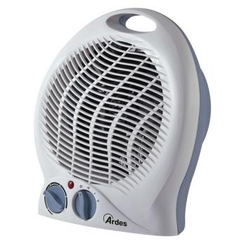 Teplovzdušný ventilátor Ardes 451C šedý