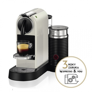Espresso DeLonghi Nespresso CitiZ&Milk EN267.WAE bílé