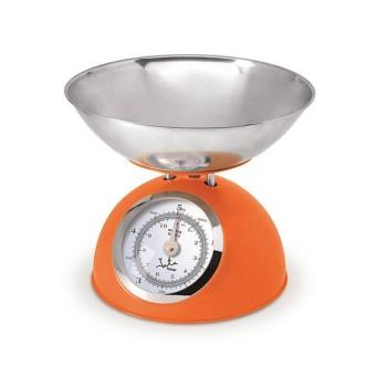 Kuchyňská váha JATA 612NA nerez/oranžová