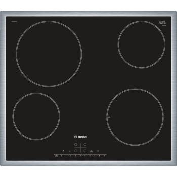 Sklokeramická varná deska Bosch PKE645FP1E černá