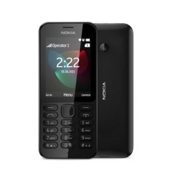 Mobilní telefon Nokia 222 Single SIM černý