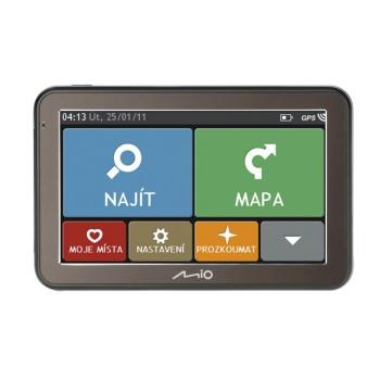Navigační systém GPS Mio Spirit 7670 Full Europe Lifetime černá/šedá