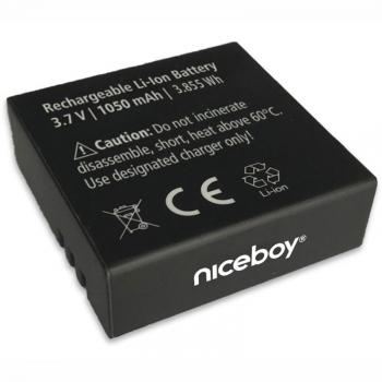 Baterie Niceboy 1050mAh pro VEGA 4K