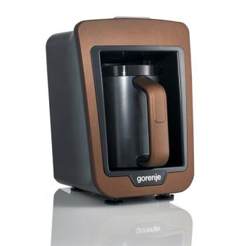 Kávovar pro tureckou kávu Gorenje ATCM730T hnědý