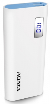 Powerbank ADATA P12500D 12500mAh bílá