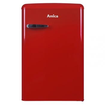 Chladnička Amica Retro VT 862 AR červená
