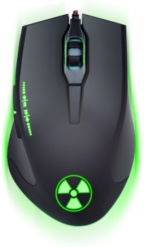 Myš Connect IT Battle Rainbow černá (/ optická / 6 tlačítek / 3200dpi)