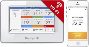 Řídicí jednotka Honeywell EvoTouch Wi-Fi, Cz lokalizace