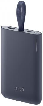 Powerbank Samsung 5100 mAh, USB-C modrá
