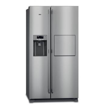 Americká lednice AEG RMB66111NX nerez