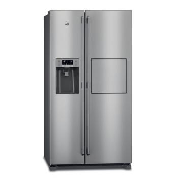 Americká lednice AEG RMB86111NX nerez